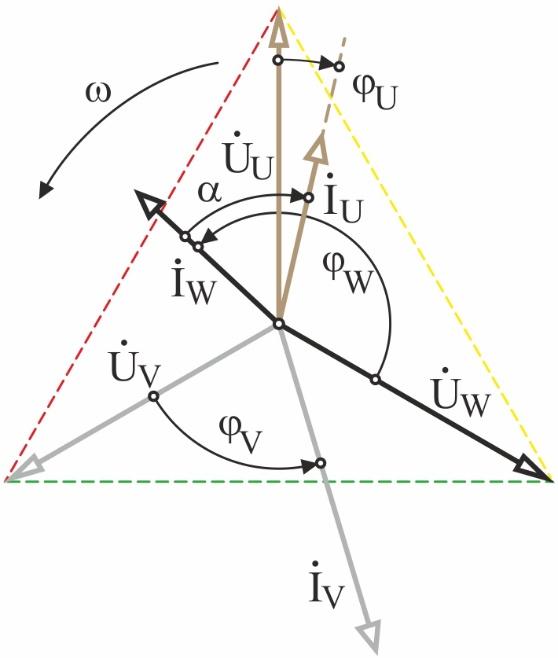 Рис 4 ВД токов 4-хзон инд в треуг - упрощ (18-12)